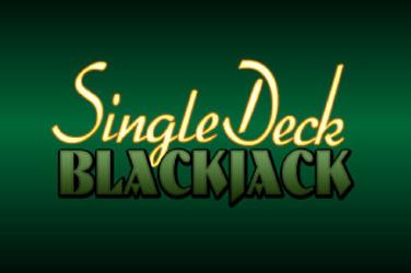 Single палуба Blackjack уюлдук