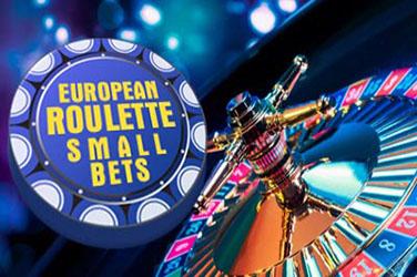 Europäische Roulette kleine Wetten