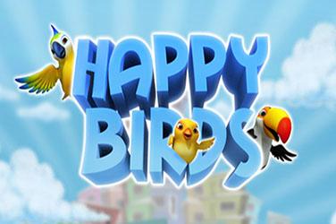 Glückliche Vögel