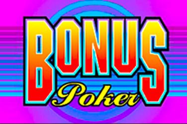 Bonus покер