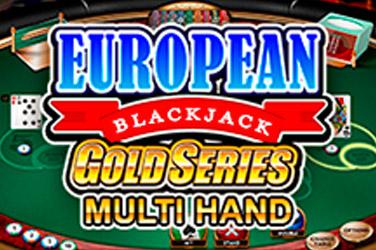 Premier blackjack multi-hönd evru bónus gull