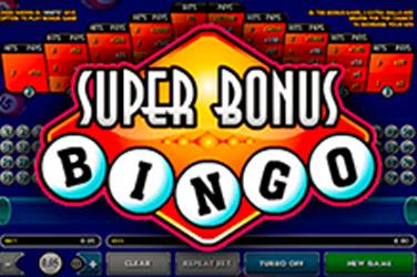 Супер бонус бинго