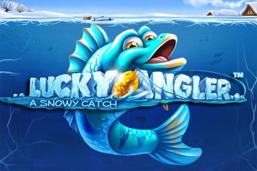 Glücklicher Angler