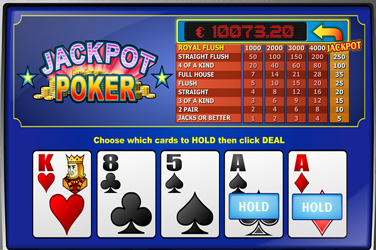 Jackpot թղթախաղեր