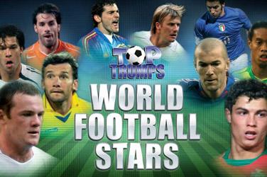 Top trumfy světové fotbalové hvězdy