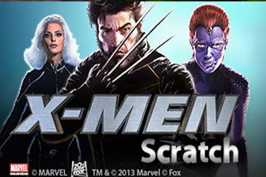 X-muškarci ogrebotina