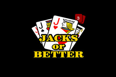 Jacks or better 3 hand