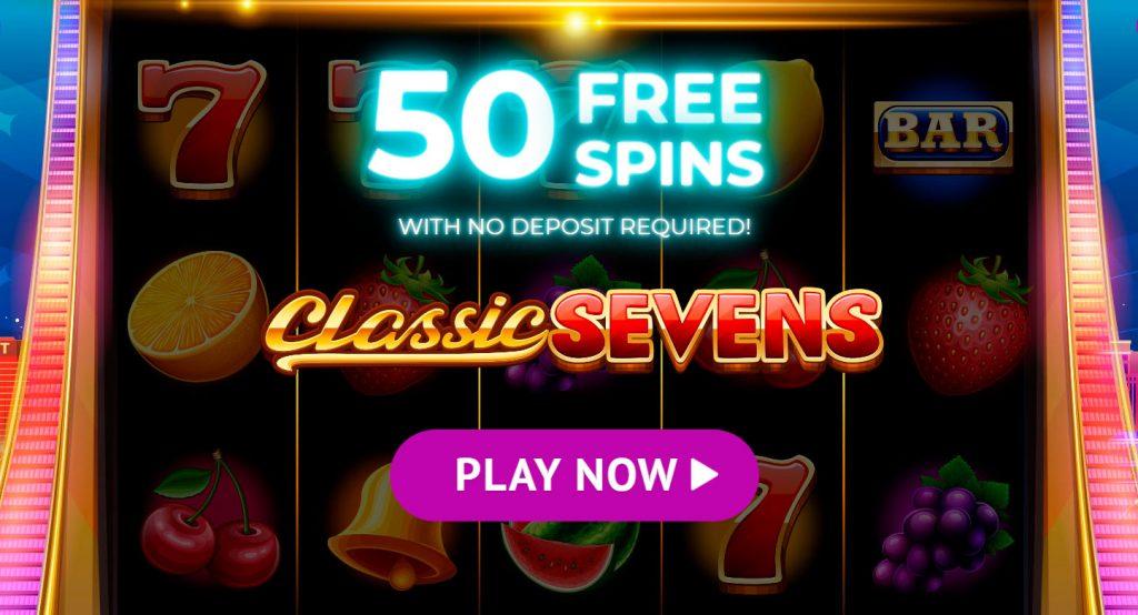 Darmowe gry Jackpot City Casino 50 na automacie Classic Sevens!