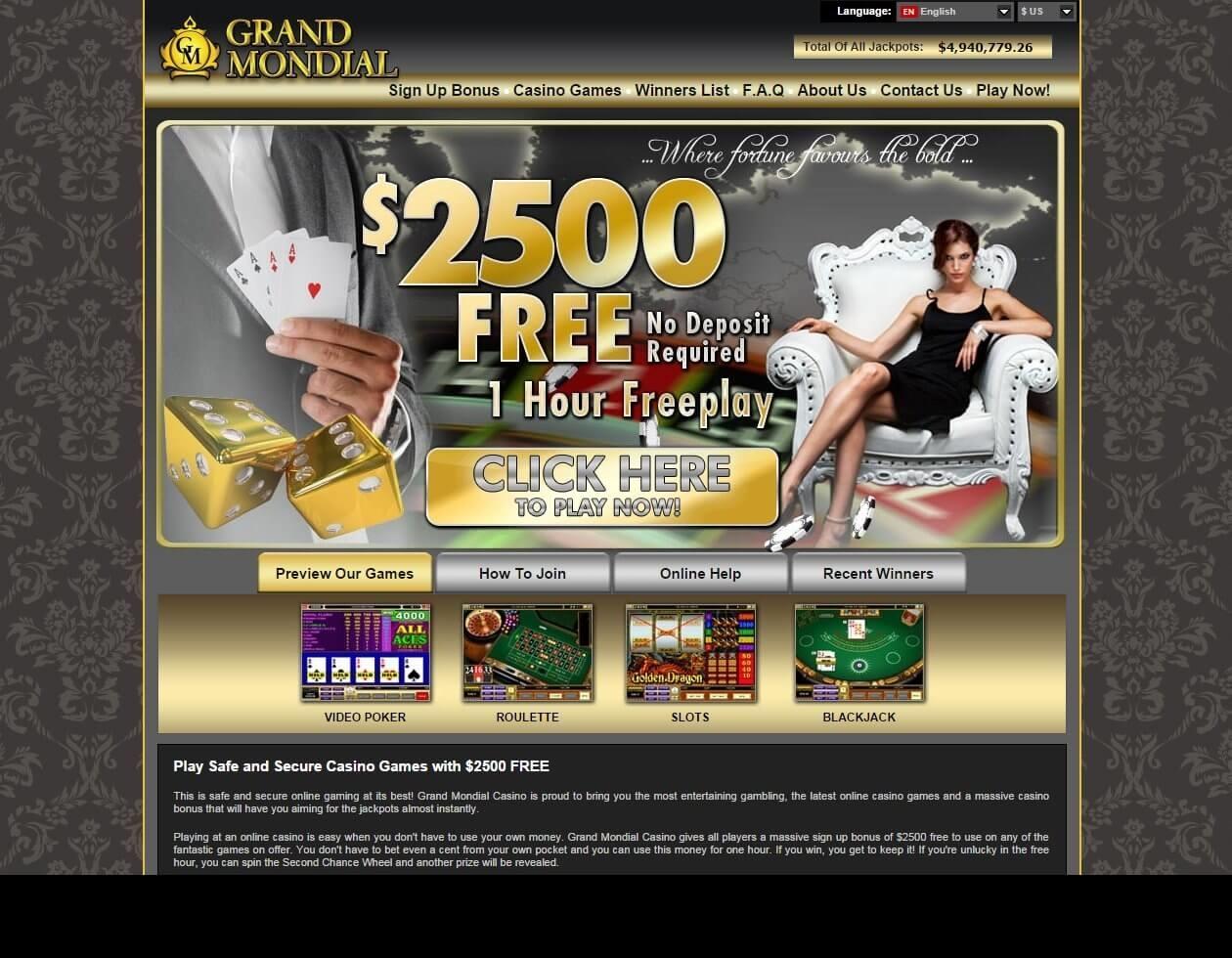 925% Match Bonus Casino at Miami Club