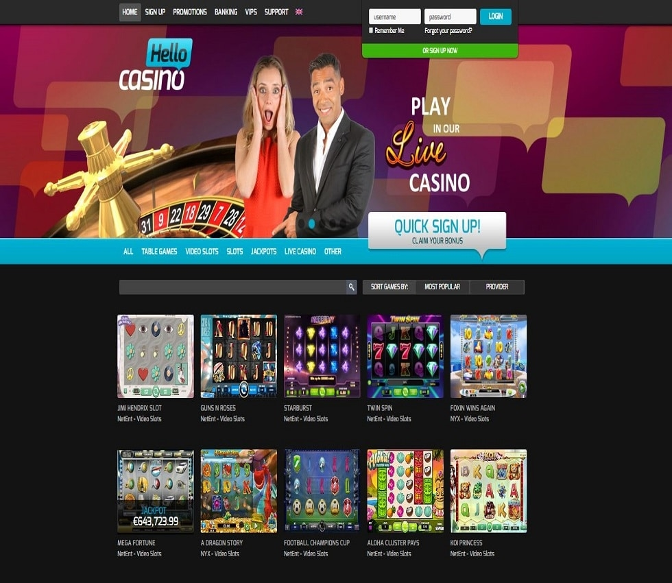 Virtual casino free spin codes