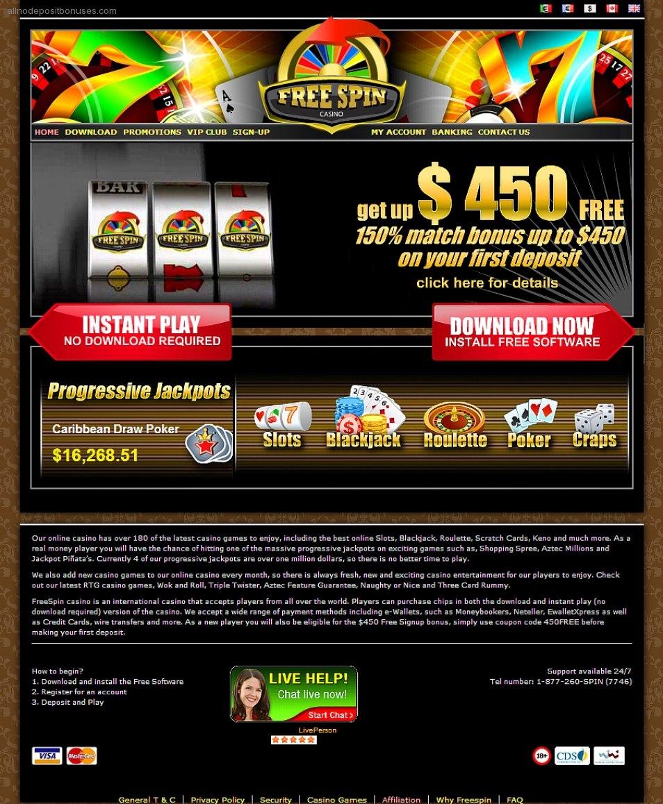 $555 FREE CASINO CHIP at Slots Heaven