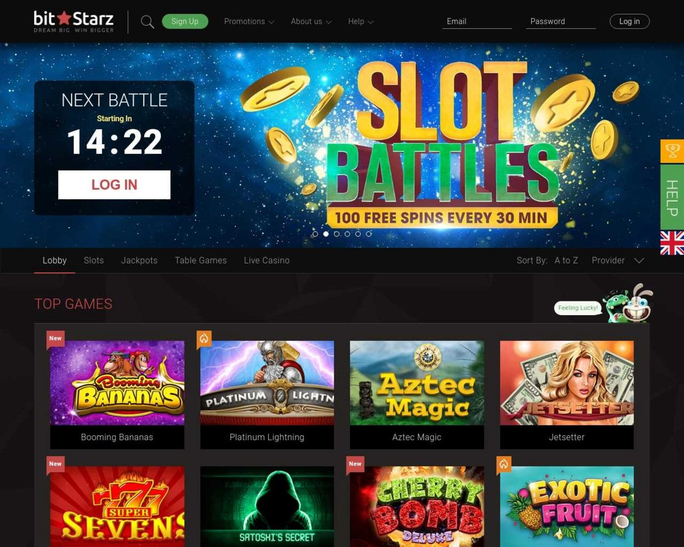 Big 5 casino 5 free spins