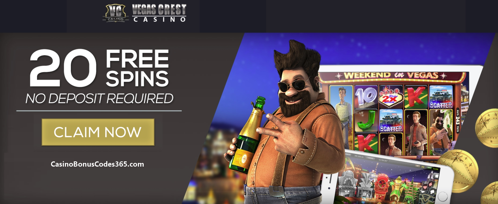 £1675 no deposit bonus code at Casino.com