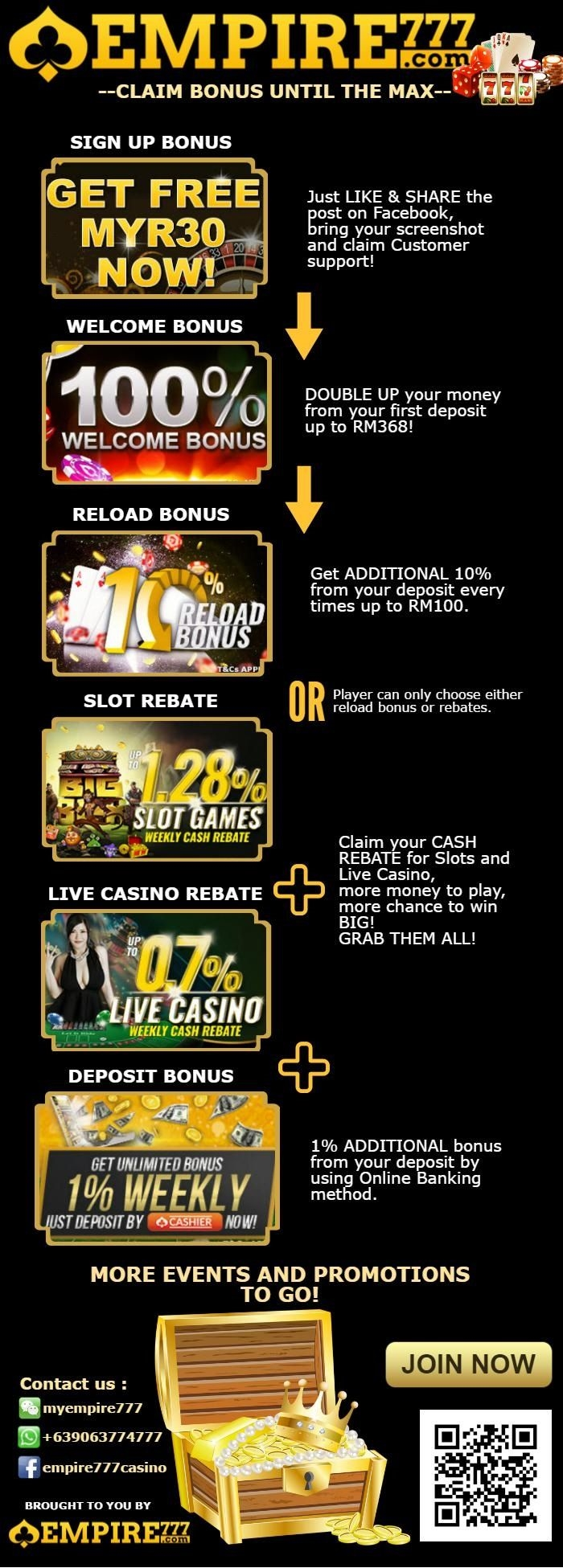75 free casino spins at Red Stag
