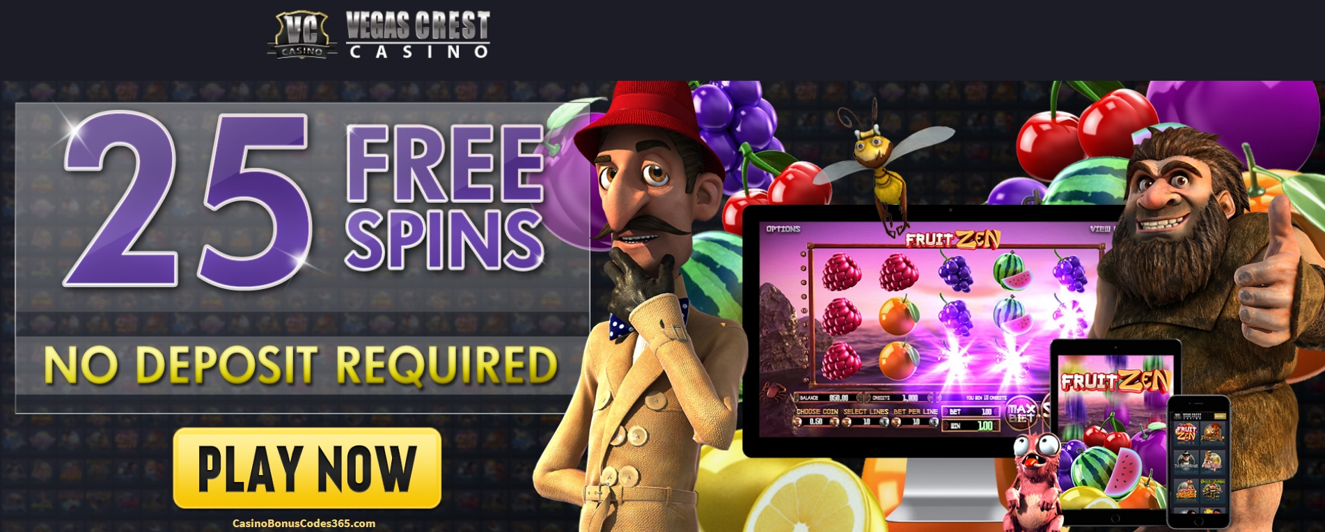 €225 Free Casino Chip at Sloto'Cash
