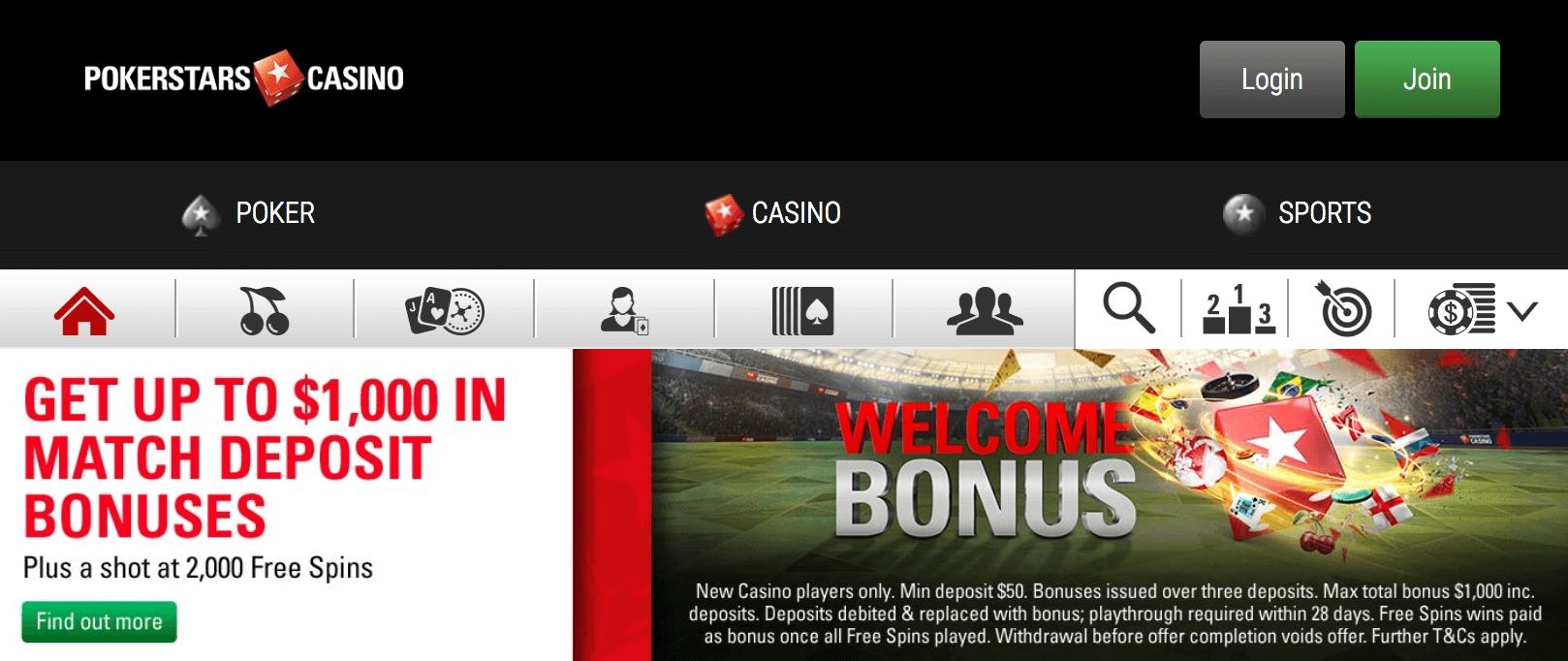 100% casino match bonus at Miami Club