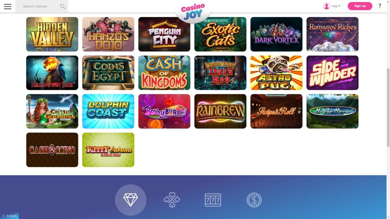 460% Match Bonus Casino at Red Stag