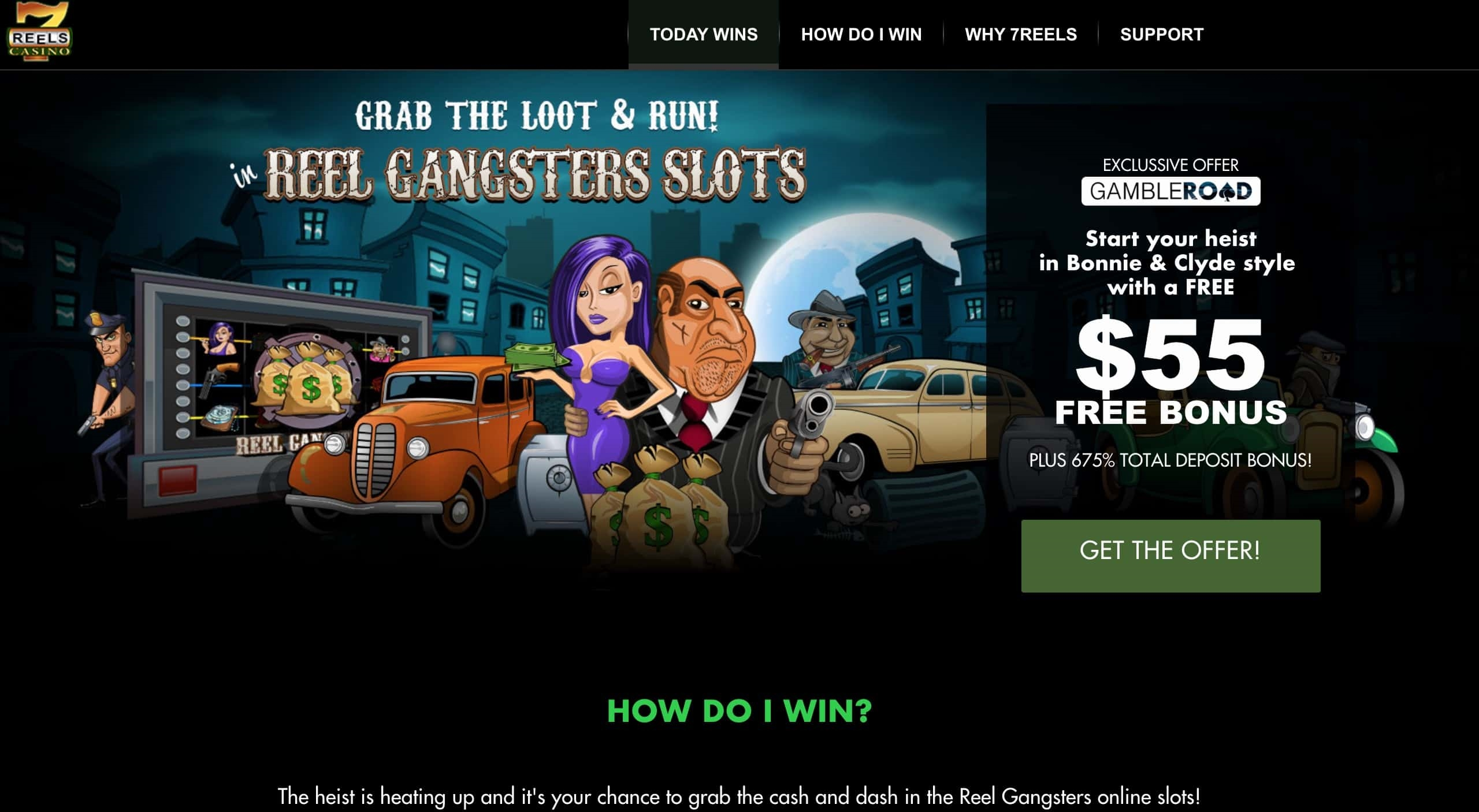 770% casino match bonus på Sloto'Cash