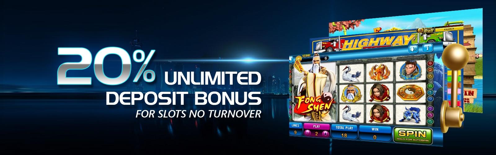 710% casino match bonus at Desert Nights