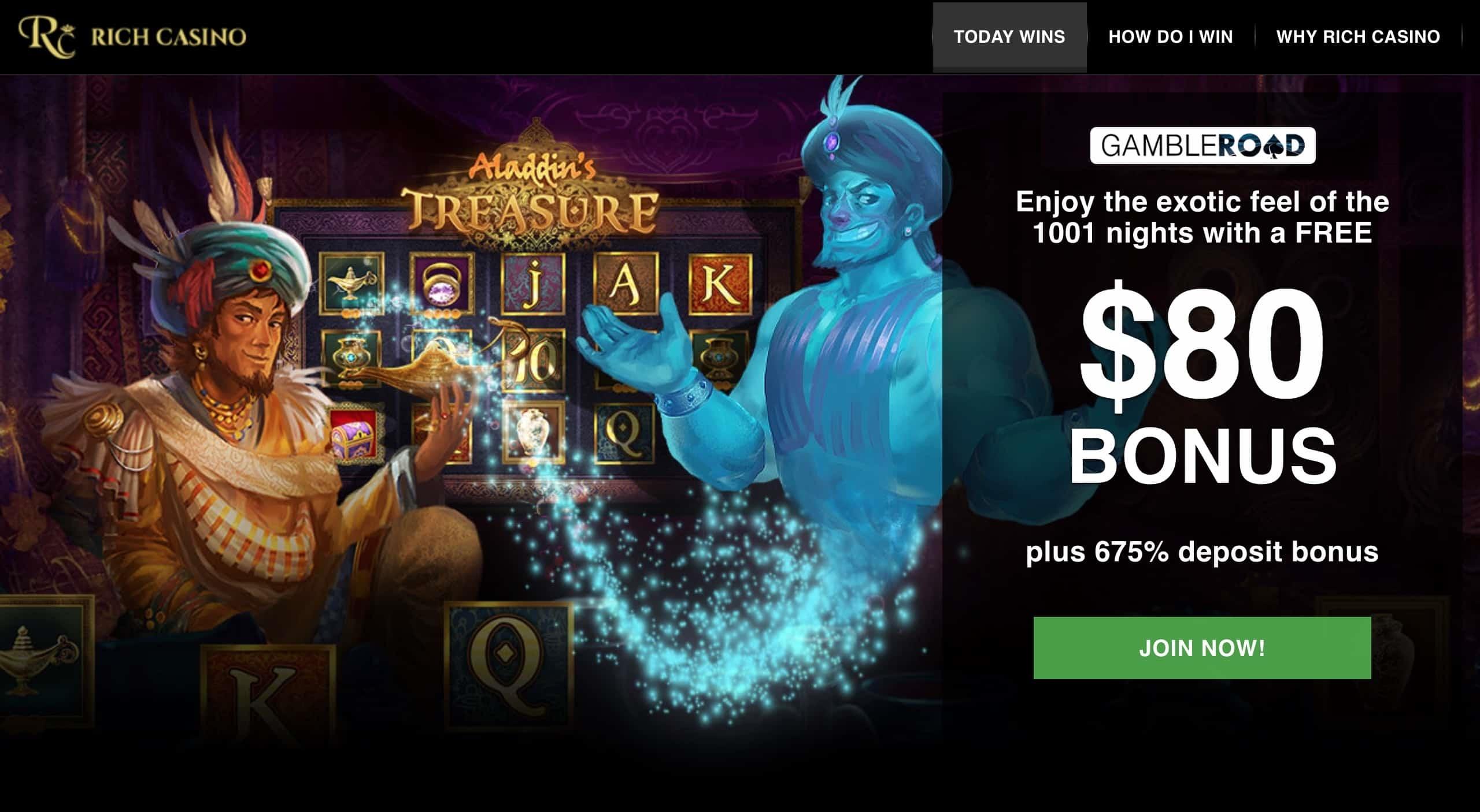 750% Signup casino bonus at Box 24 Casino