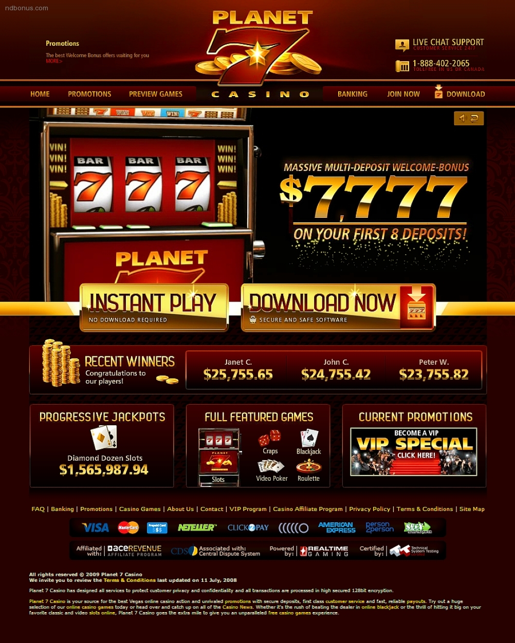 €666 FREE CASINO CHIP at Sloto'Cash