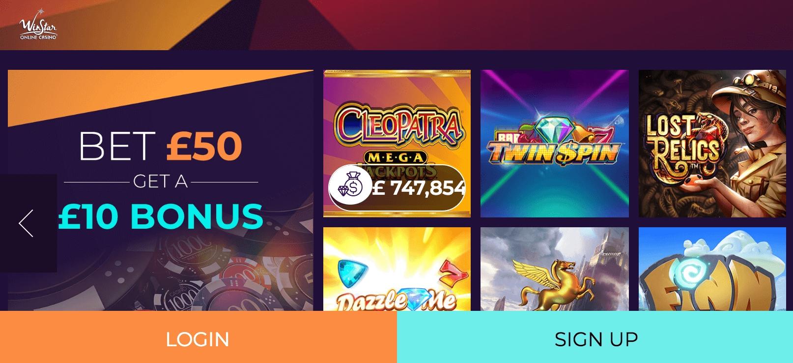 745% No Rules Bonus! au Party Casino