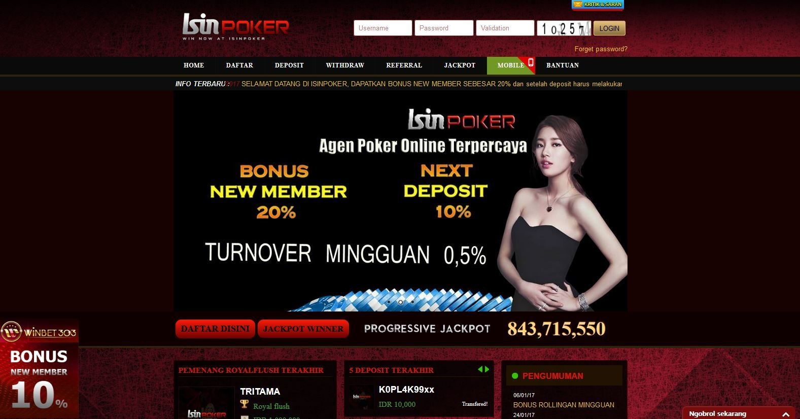 215 free spins casino sur bWin