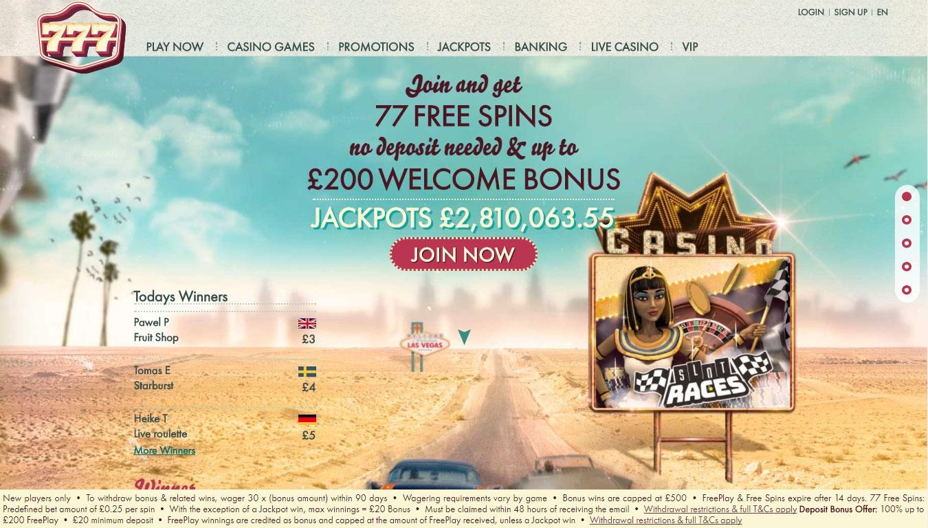 梦幻维加斯的895%匹配奖金赌场