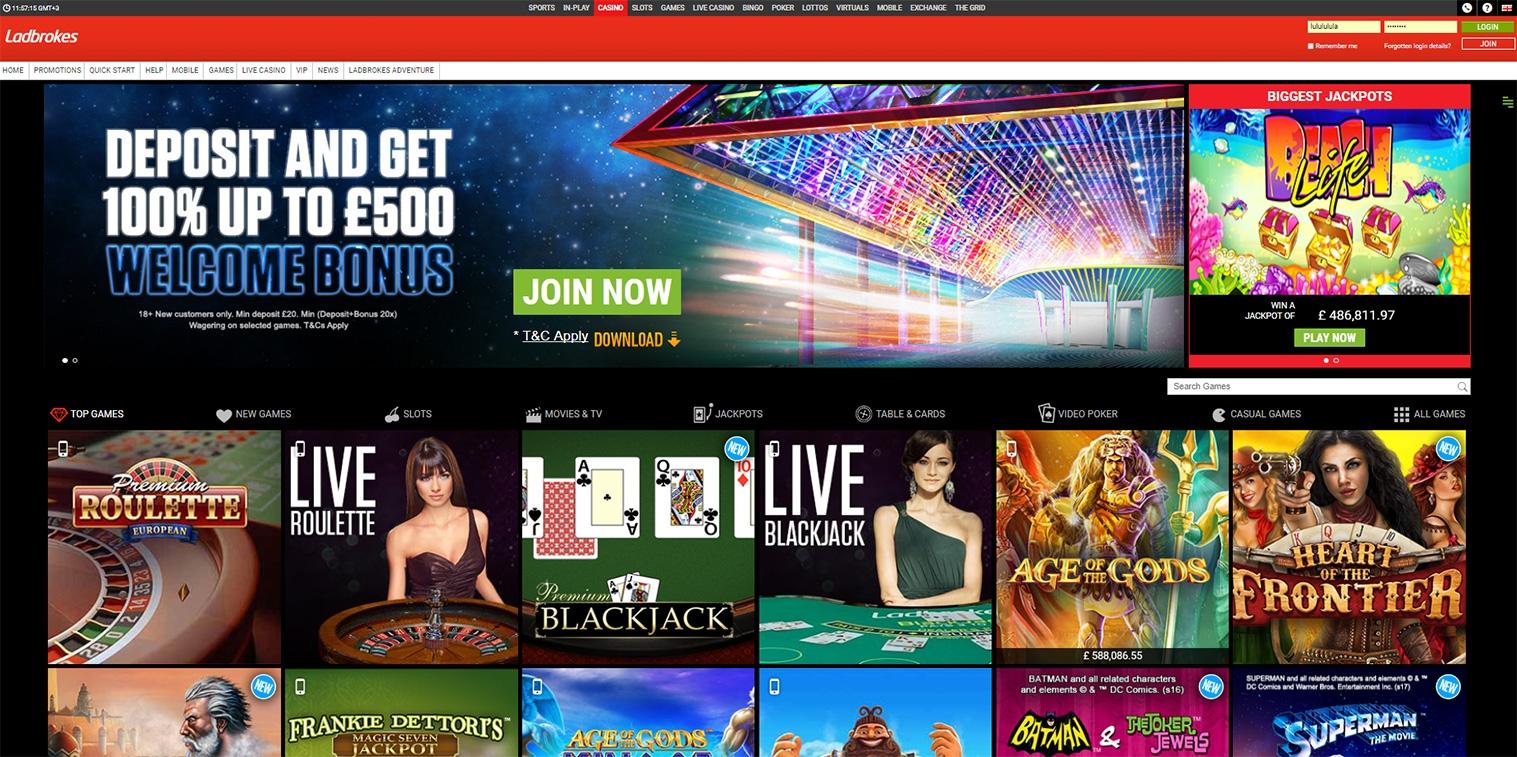 330% Party Casino-da Bonus