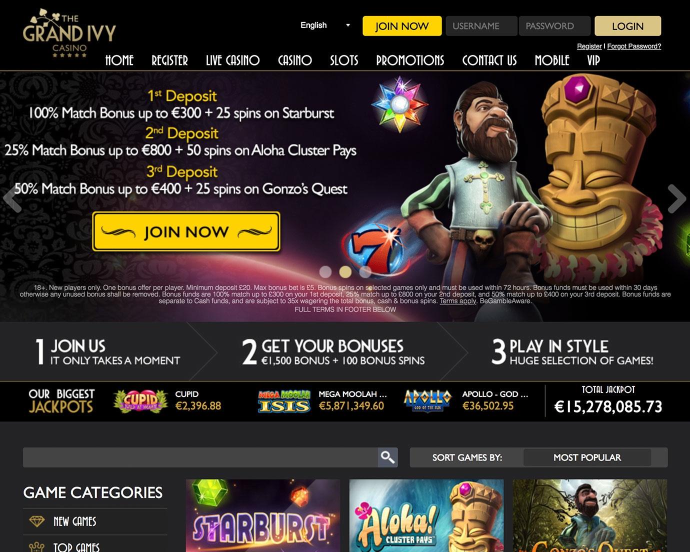 € 640 Bonus sans dépôt Casino sur Casino On Net