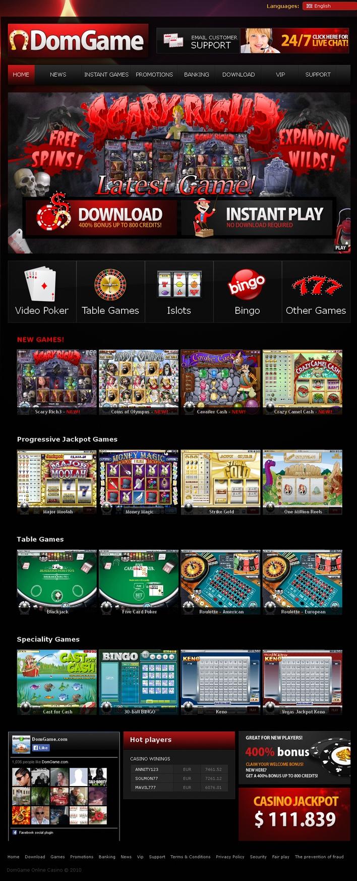 Bonus de premier dépôt 710% sur 888 Casino