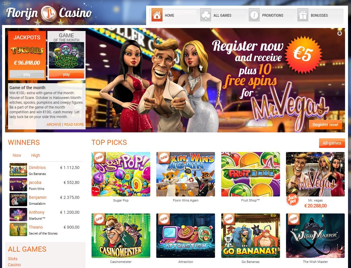 € Tournoi de casino en ligne 200 à Miamidice