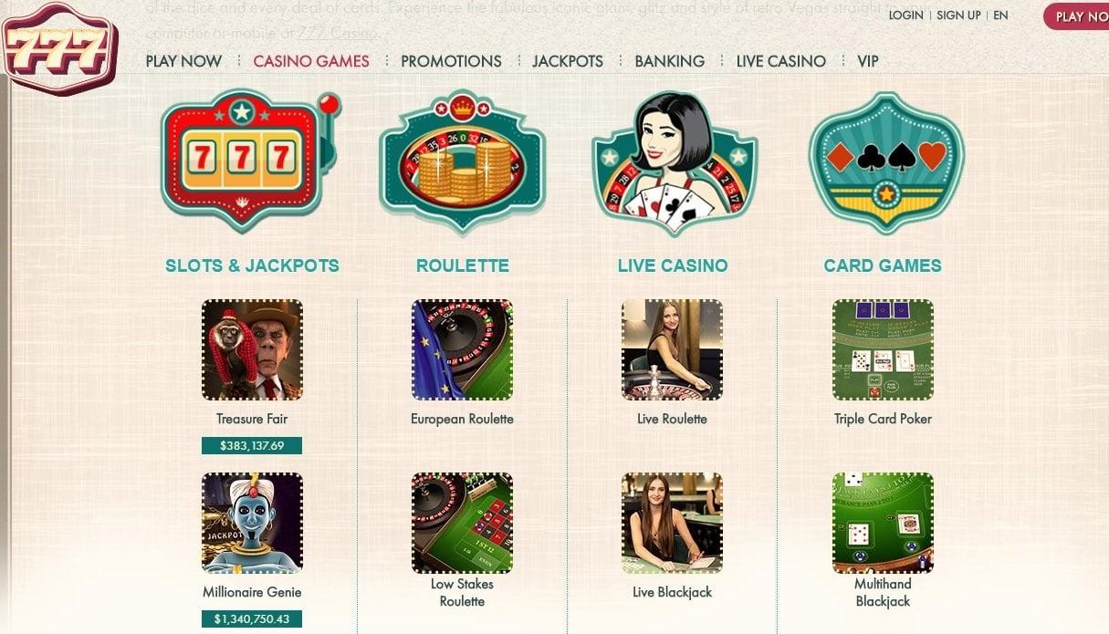 75免费赌场在Gamebookers旋转