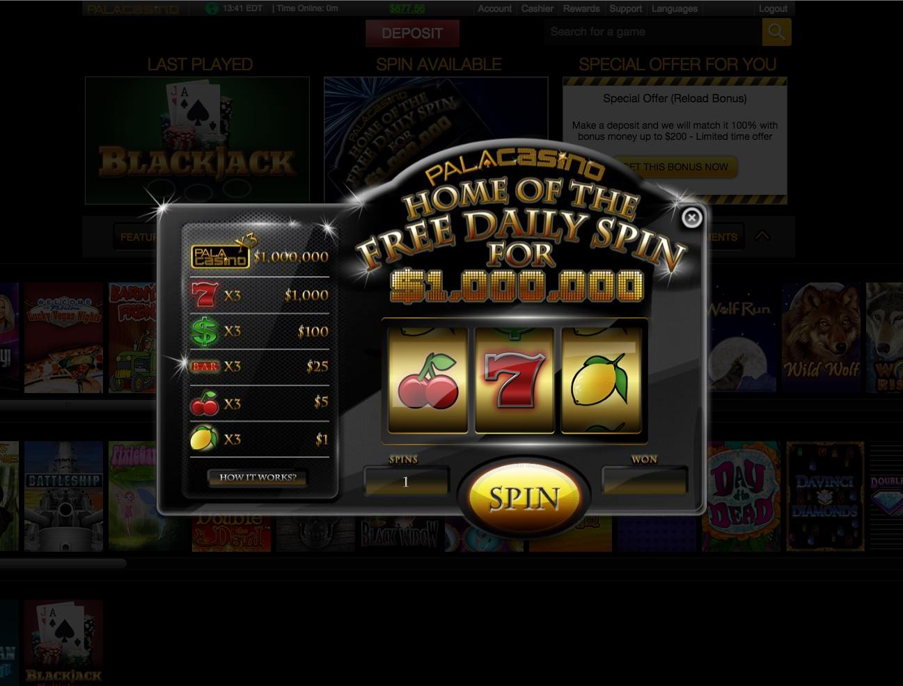 Wink Slots€500免费赌场筹码