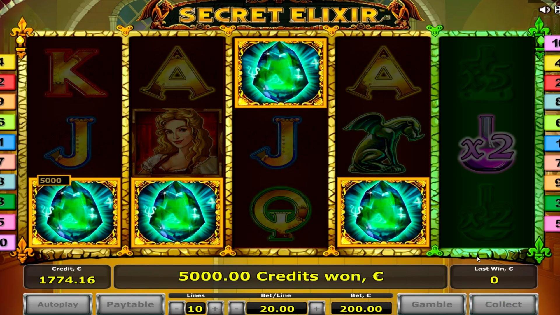 € 195 Online Casino Tournament في كازينو الطرف