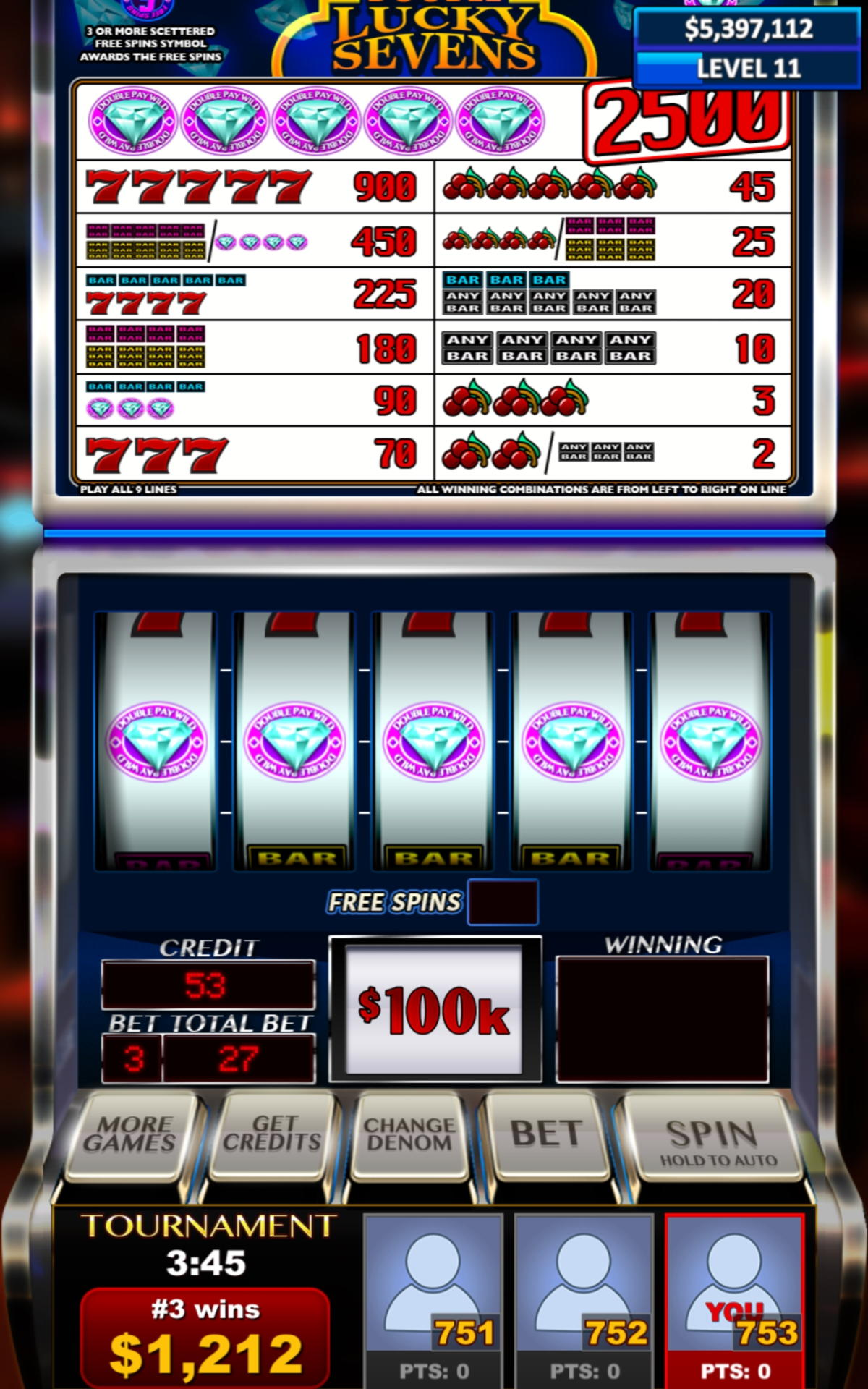 £ 655 Online Casino Tournament في Casino On Net