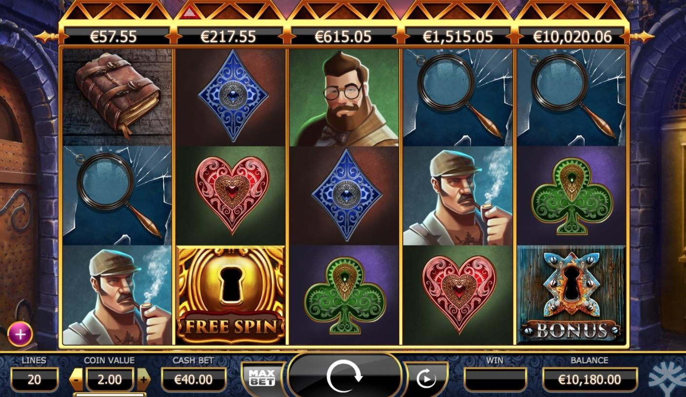 180 Free Spins խաղատուն `Slots Capital- ում