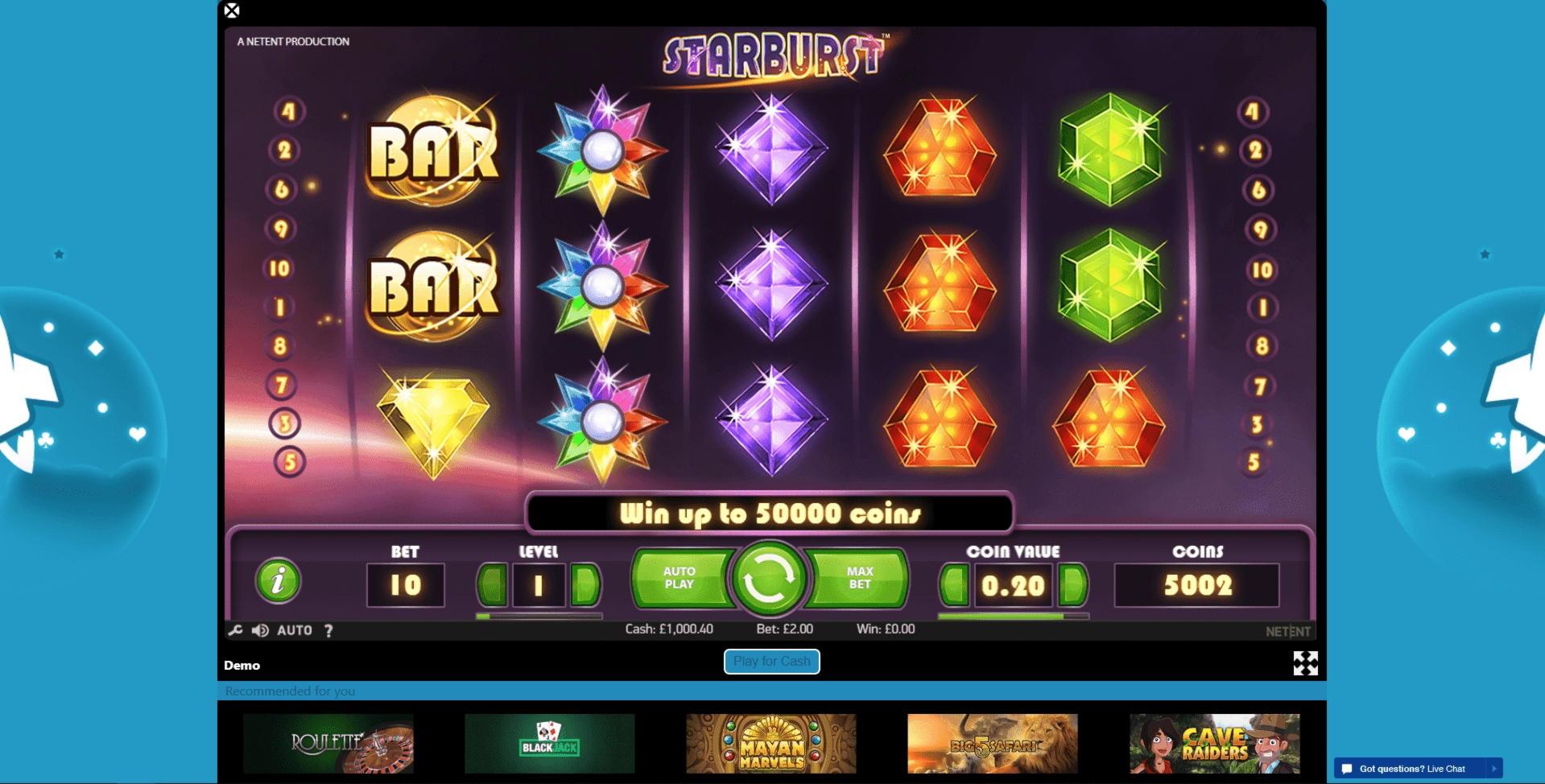$ 120 ԱԶԱՏ ՉԻՓ ՔԱՍԻՆՈ `Casino.com- ում