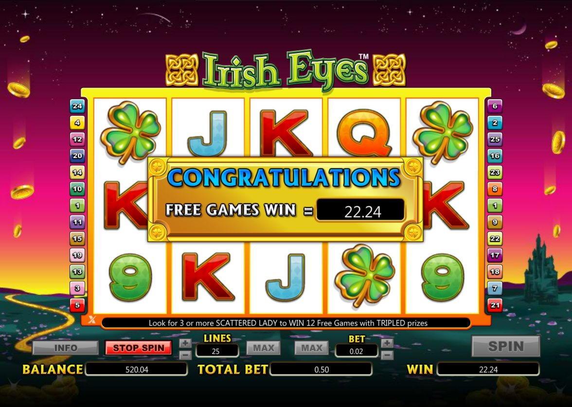 $ 710 անվճար խաղատուն, Sloto'Cash- ում