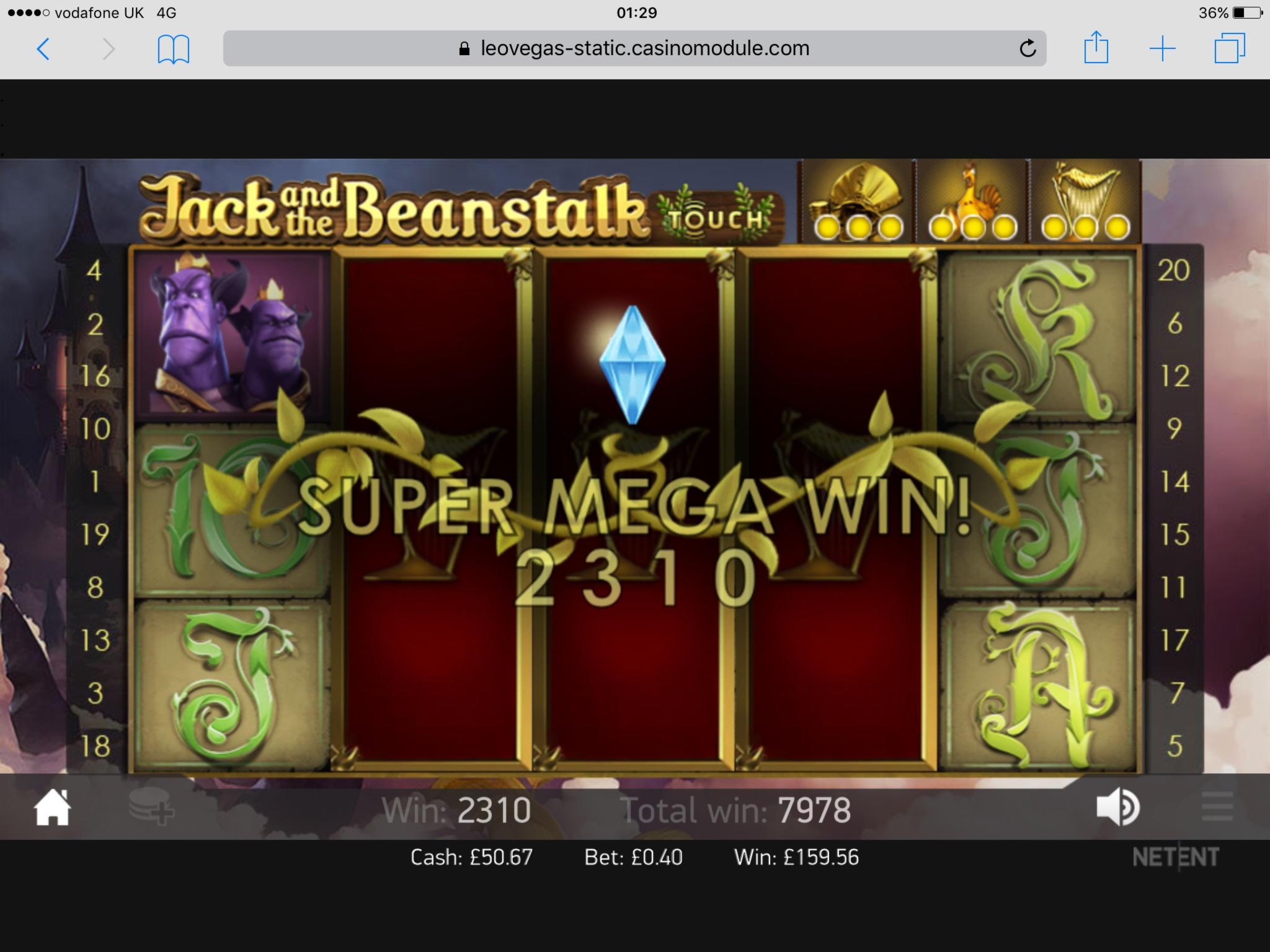Casino.com上的395%存款匹配奖金