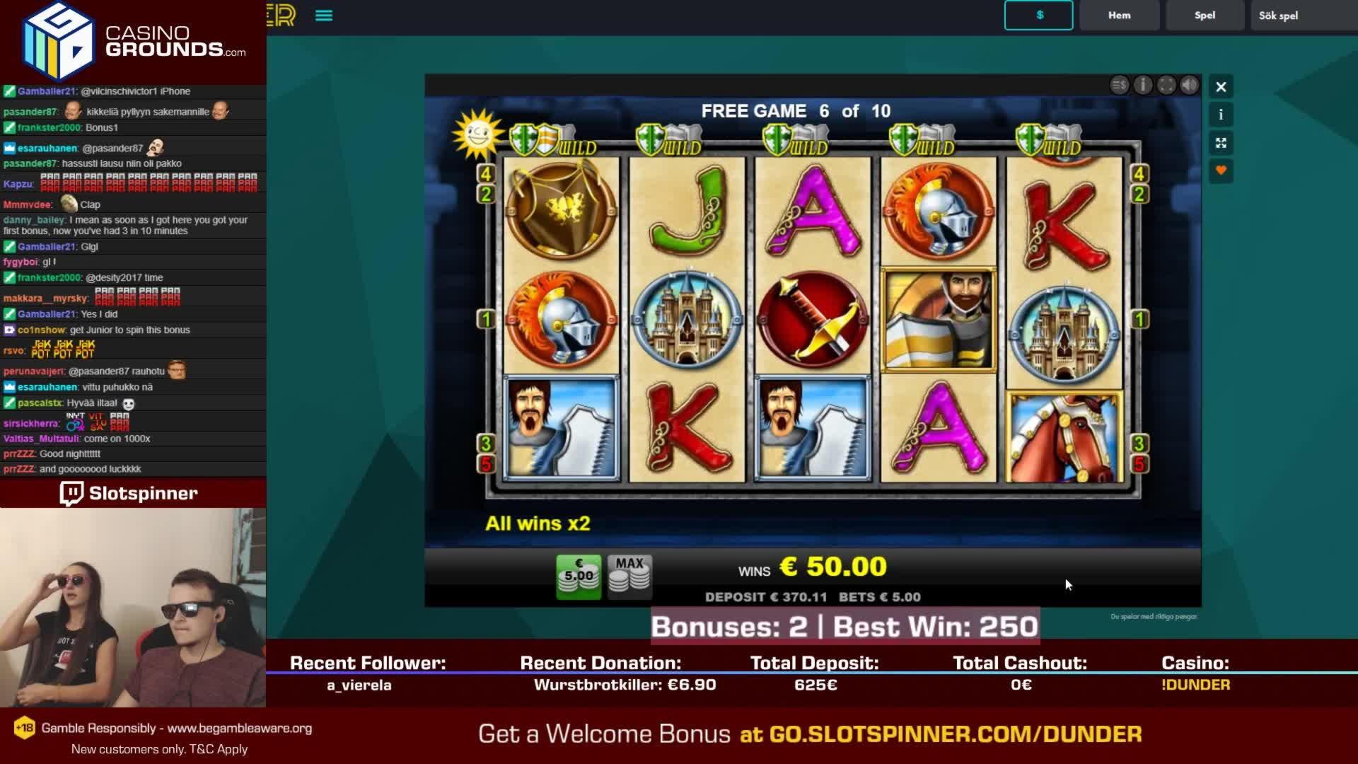 €410 Gate777没有存款奖金赌场
