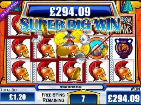 £1260 No Deposit Bonus Casino at Party Casino