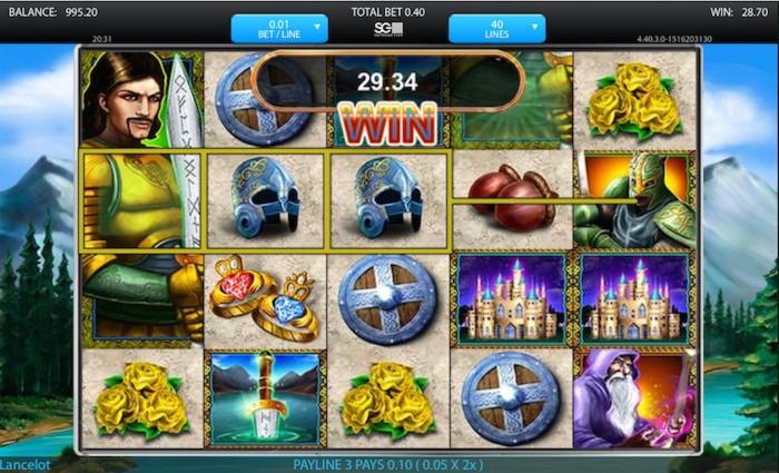EURO 635 Online կազինո մրցաշար `Sloto'Cash- ում