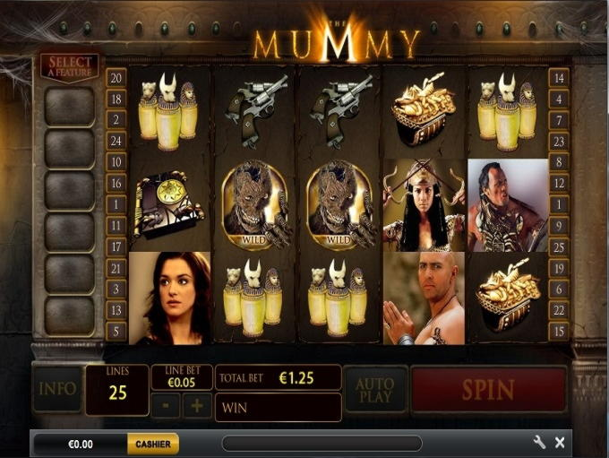 € 125 Casino turnir v Mansion Casino
