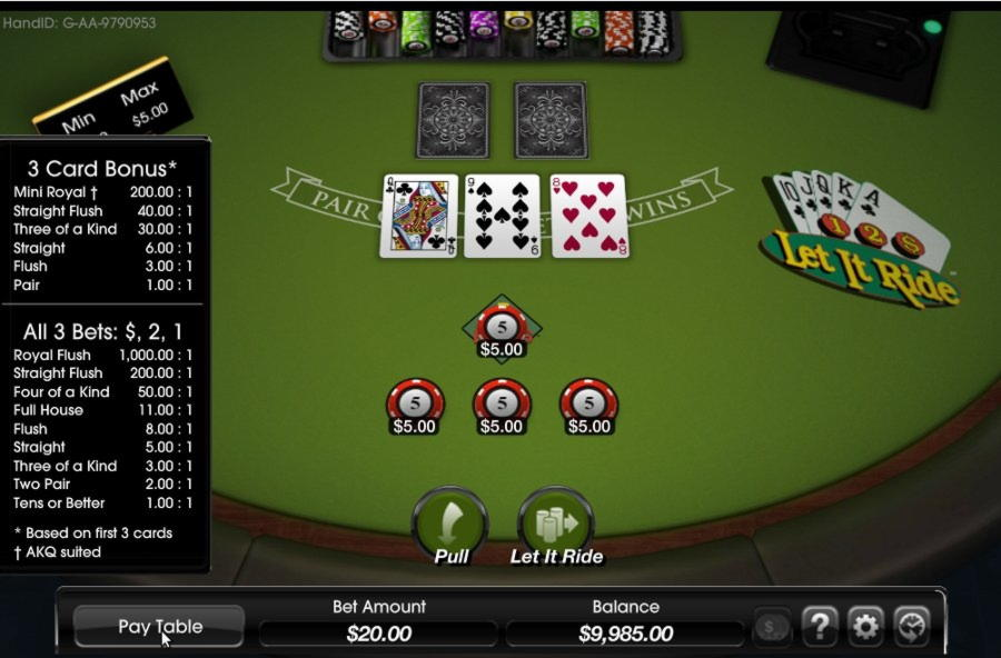 派对赌场的€175赌场锦标赛