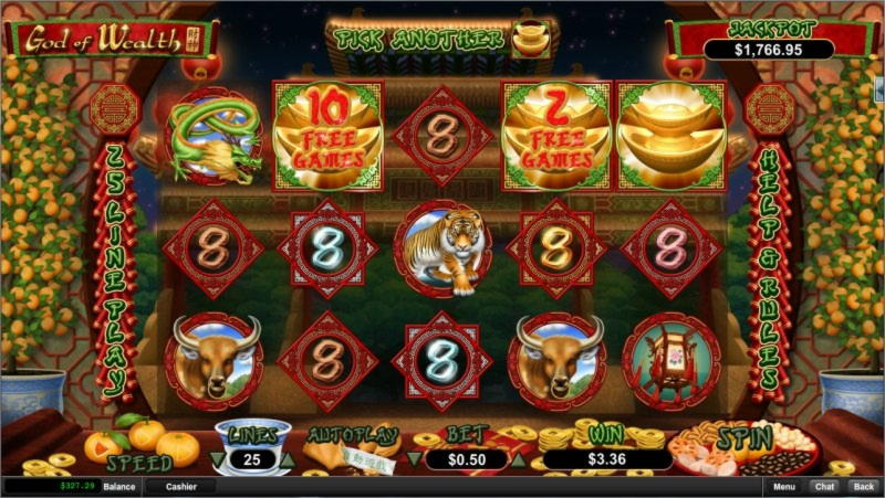 295 Free Spins Casino på Party Casino