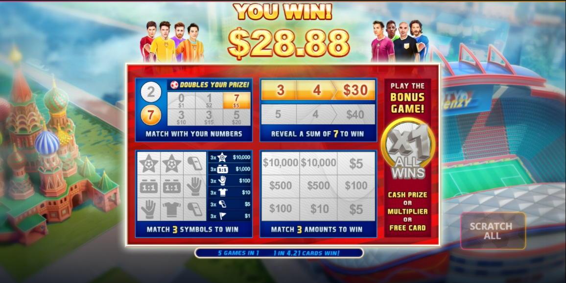 460%在Party Casino首次存款奖金