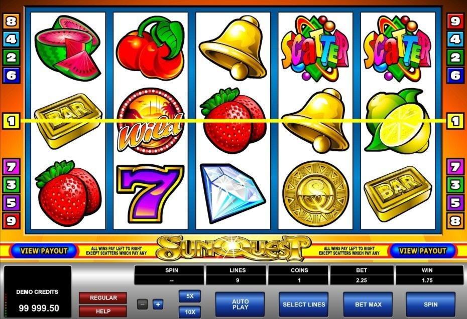 EURO 110 Ազատ խաղատան չիպը Sloto'Cash- ում