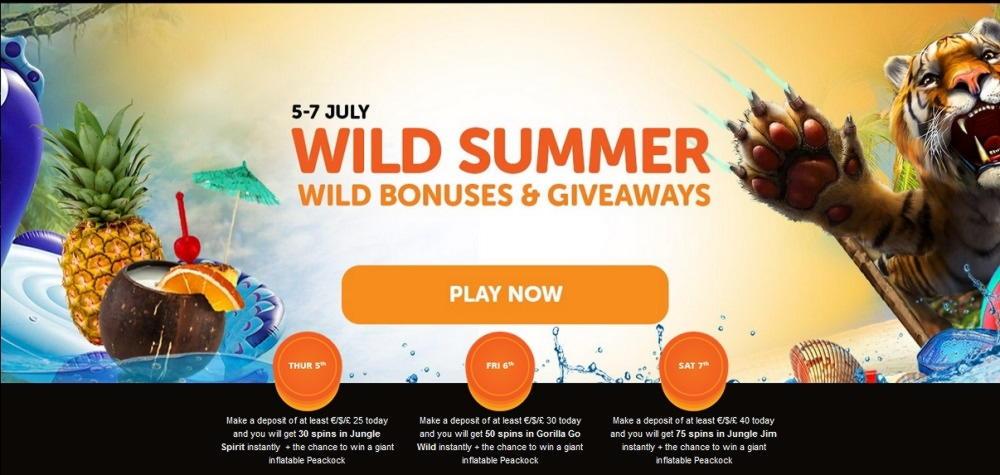 £1960 No deposit casino bonus at Big Spin Casino