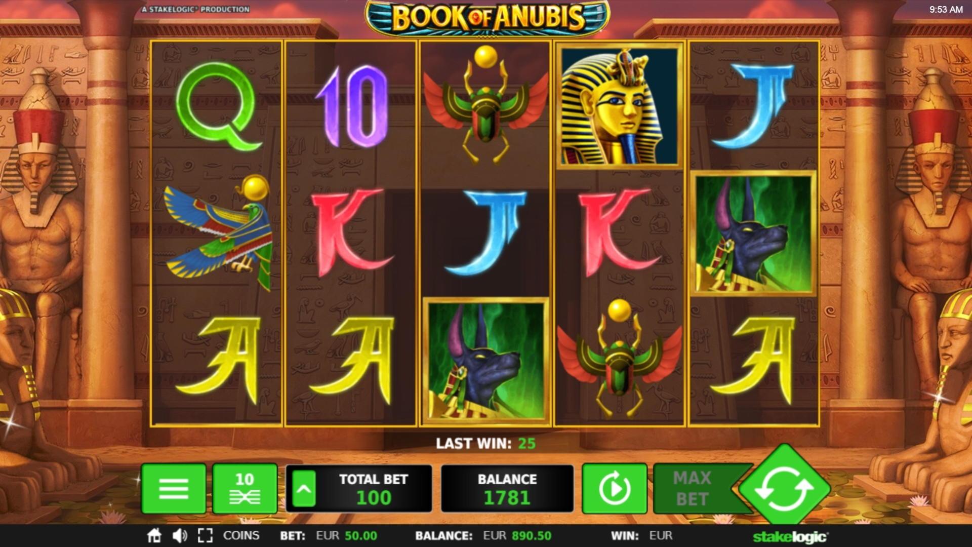 $ 855 Online Casino- ի մրցաշար, 21 Casino- ում